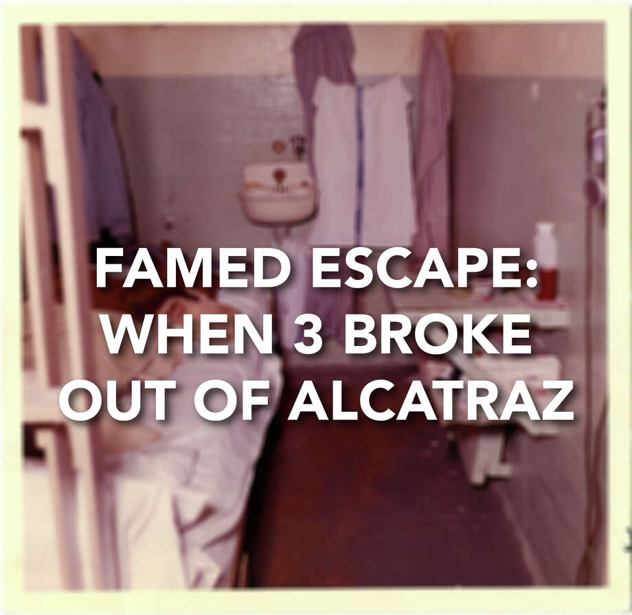 On June 11, 1962, three prisoners escaped from U.S. Penitentiary Alcatraz in San Francisco, using dummies in there cells and other complicated methods. The U.S. Marshals Service to this day continues to have an open case on the escape. Photo: U. S. Penitentiary Alcatraz