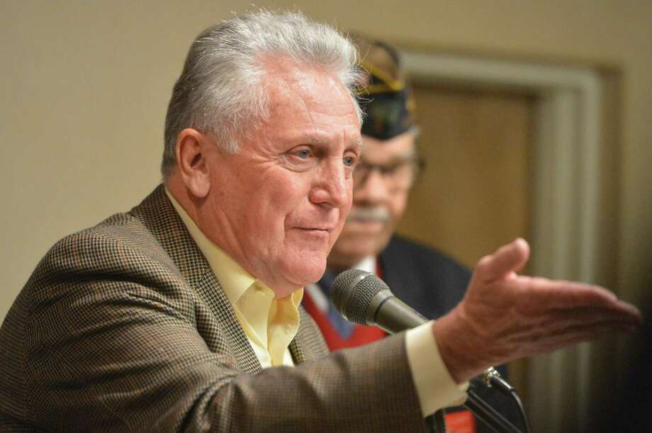 """The Common Council has postponed action indefinitely on approving a """"grants coordinator/communications manager"""" position within Mayor Harry Rilling's office after the proposal took a hammering from one councilman. Photo: Alex Von Kleydorff / Hearst Connecticut Media / Norwalk Hour"""