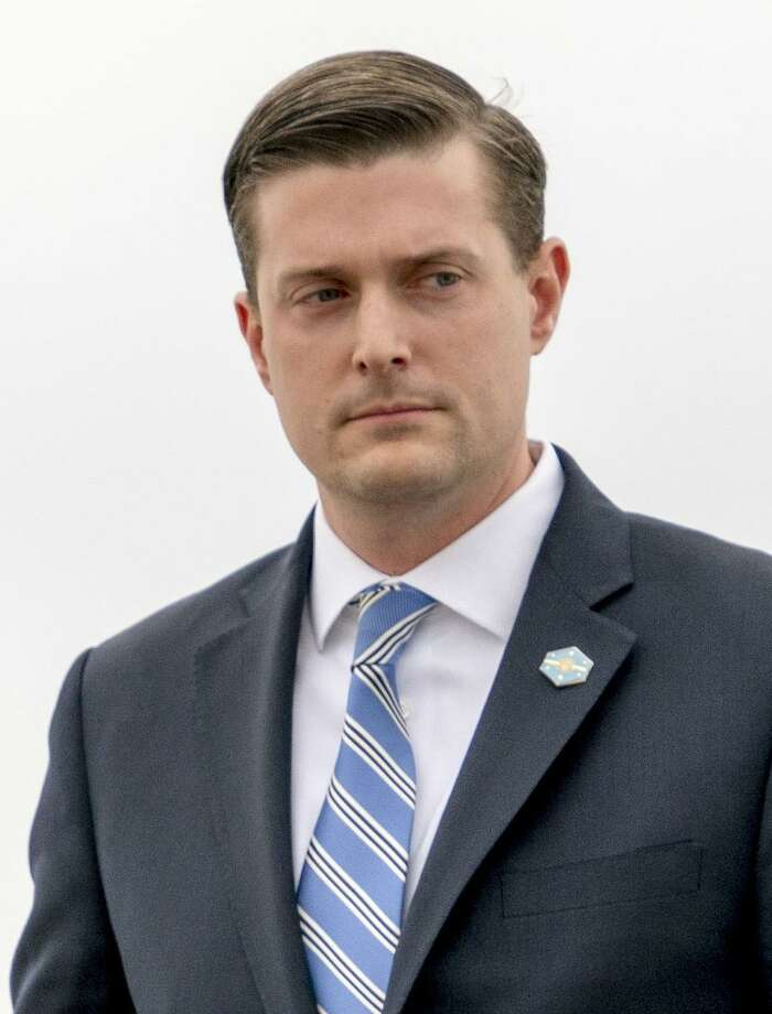 White House Staff Secretary Rob Porter. Porter resign his position after a news account that quoted his two ex-wives accusing him of physical abuse during the course of their marriages. Photo: Andrew Harnik / Associated Press / Copyright 2018 The Associated Press. All rights reserved.