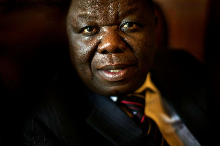 Morgan Tsvangirai, pictured as prime minister in 2010, challenged Robert Mugabe for the presidency. Photo: ROBIN HAMMOND, NYT