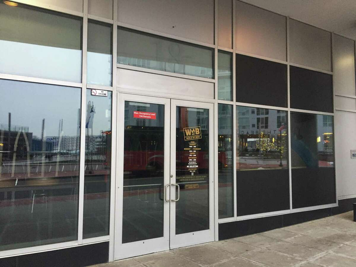 World of Beer has closed its establishment at 18 Harbor Point Road in Stamford, Conn.