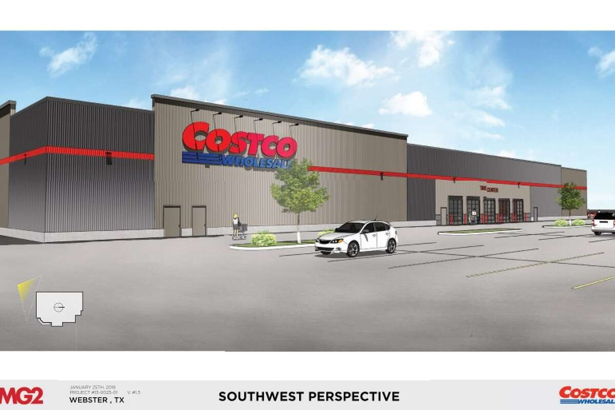 3of 26images for the proposed development of a new costco warehouse for the city of webster presented to the planning and zoning commission on feb