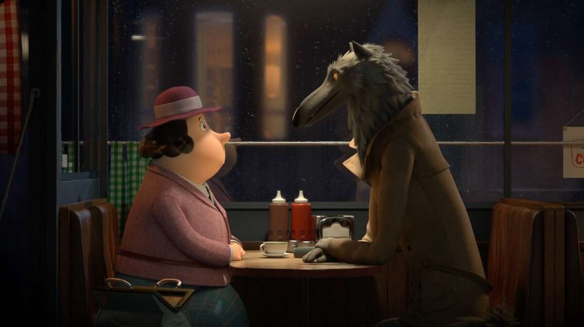 Scene from Revolting Rhymes,one of The Oscar Nominees: Animated Short Films that will be screened at The Museum of Fine Arts Houston this weekend.