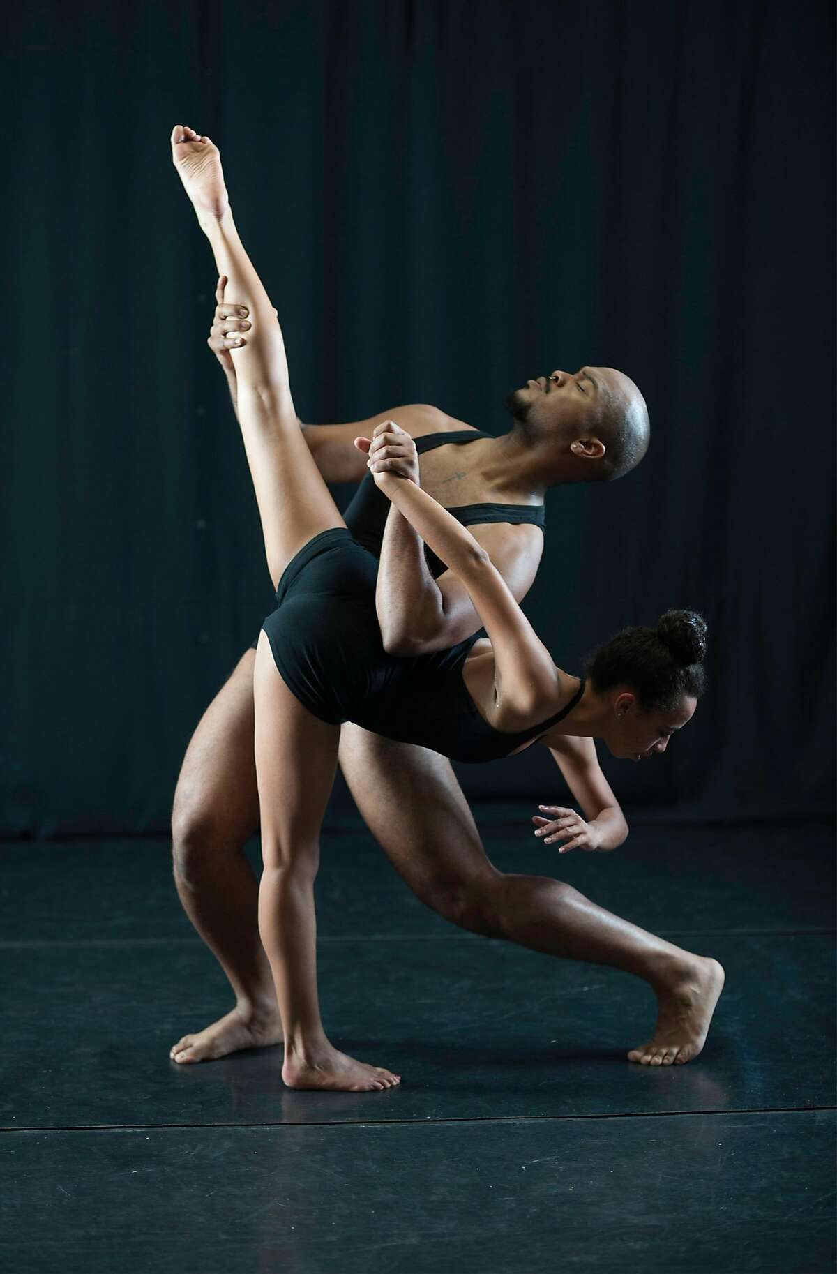 Visceral Roots directors Ashley Gayle and Noah James (in a publicity photo) created a work about homelessness for the Black Choreographers Festival. Photo: Lynne Fried