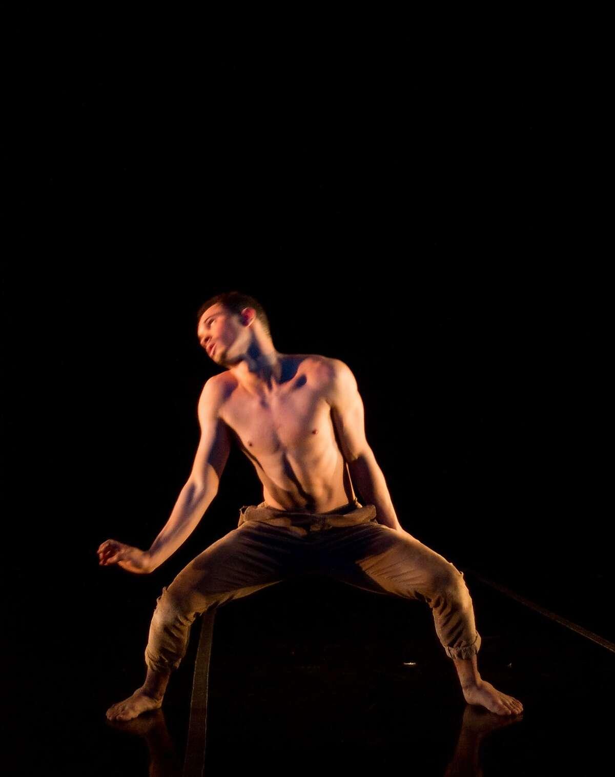 "Giordan Cruz in a previous performance of ""The Journey Part 3,"" created by emerging Bay Area choreographer Dazaun Soleyn. Photo: Alan Kimara Dixon"