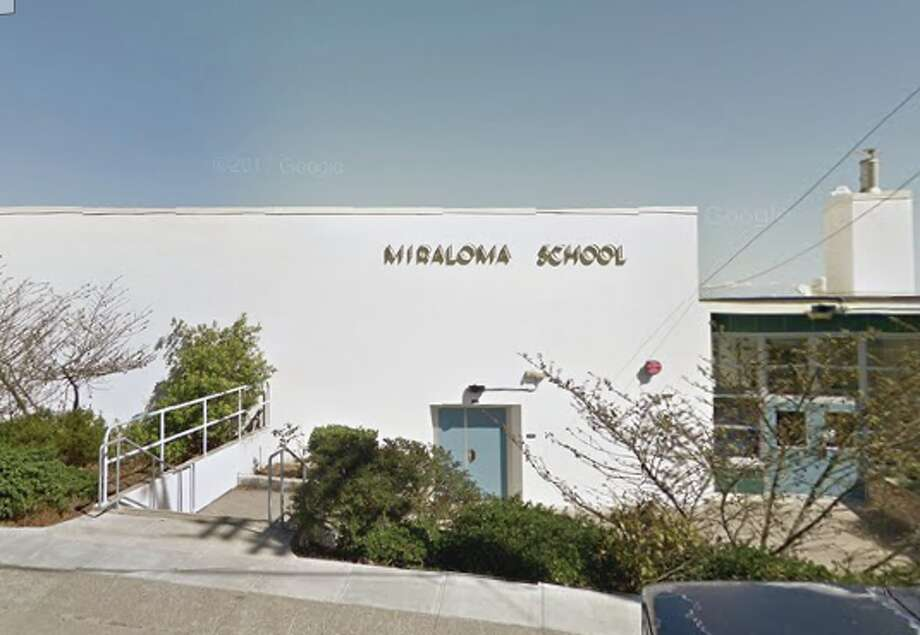 Miraloma Elementary School in SF. A new study by Trulia has discovered that although SF teachers are among the highest paid in the country, they can't afford the gross majority of homes in SF. Photo: Google Earth