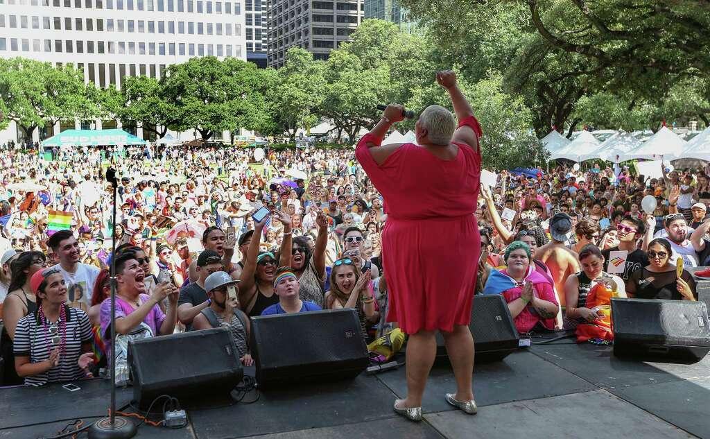 Pride Houston City Hall