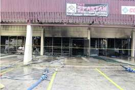 This photo from the investigation into the death of firefighter Scott Deem shows the aftermath of the blaze at a Northwest Side strip mall last year. A reader addresses the findings of the probe.