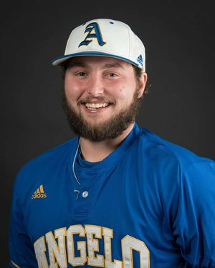 Angelo State baseball player and Conroe High School graduate Mitch Henshaw. Photo: Angelo State Sports Information