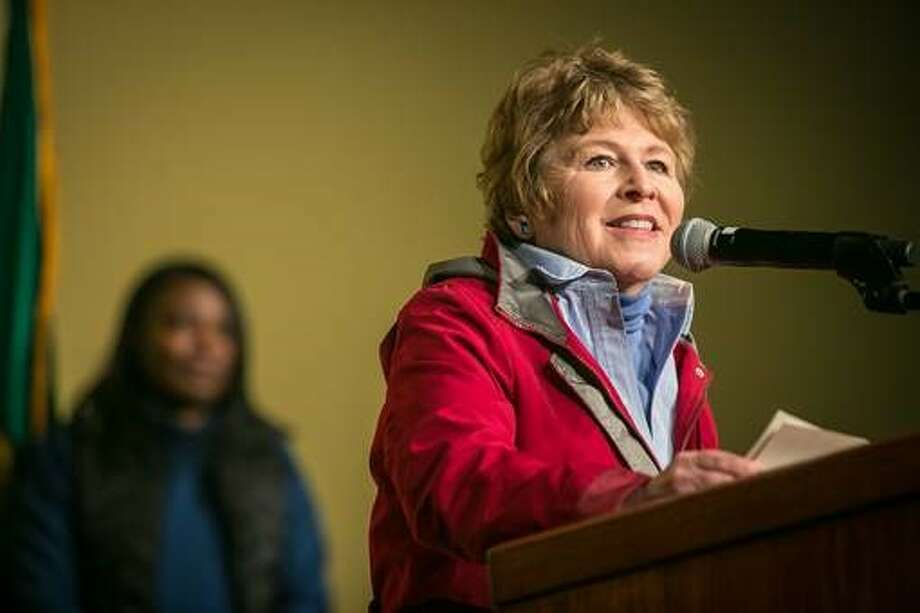 The Democrats' top challenger for Congress.  Lisa Brown is former chancellor of Washington State University -- Spokane.  She is challenging Rep. Cathy McMorris Rodgers, R-Wash., a member of the House Republican leadership.  Photo: Paul Joseph Brown For The Lisa Brown Campaign