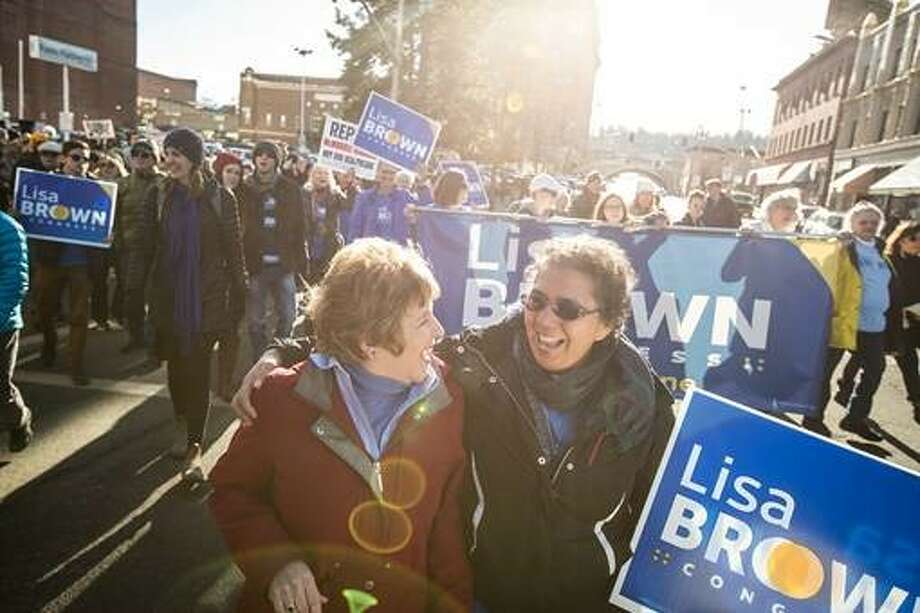 Lisa Brown, the Democratic challenger in Washington's 5th Congressional District has drawn 10,162 donors.  Photo: Paul Joseph Brown For The Lisa Brown Campaign