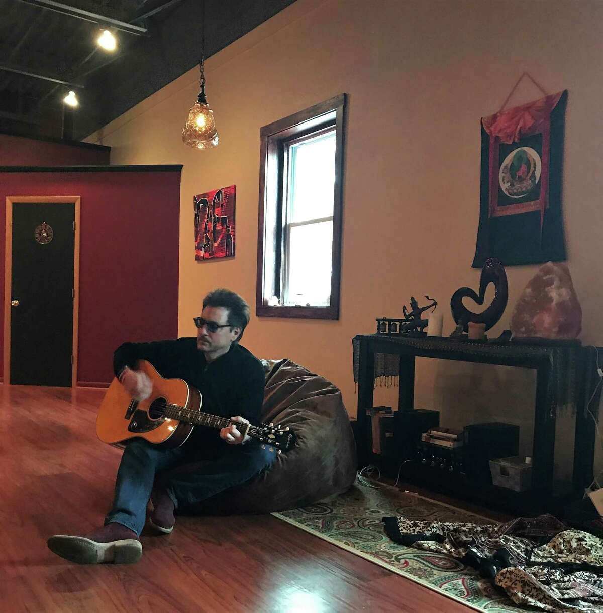 Yoga teacher Sal Annunziato opens Love Tribe Open Hearts Life Center at 1008 Main St., in Branford.