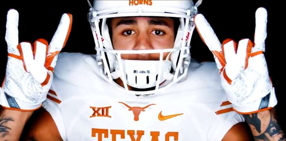 Browse through the photos for a look at Texas' 2018 recruiting class and the lines from its rap song that mentions the players. Photo: University Of Texas