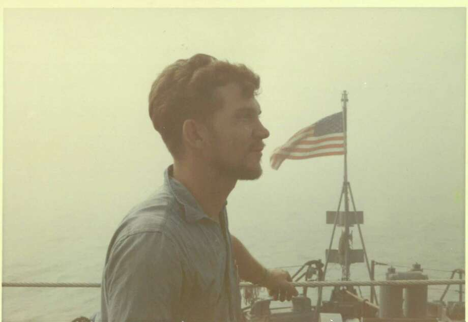 Glen Houston McCrory Jr. served as an engine man on a river patrol boat while in Vietnam. Photo: Courtesy Photo