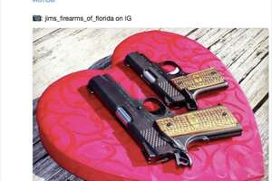 The NRA retweeted a tweet encouraging people to buy guns for loved ones on Valentine's Day.