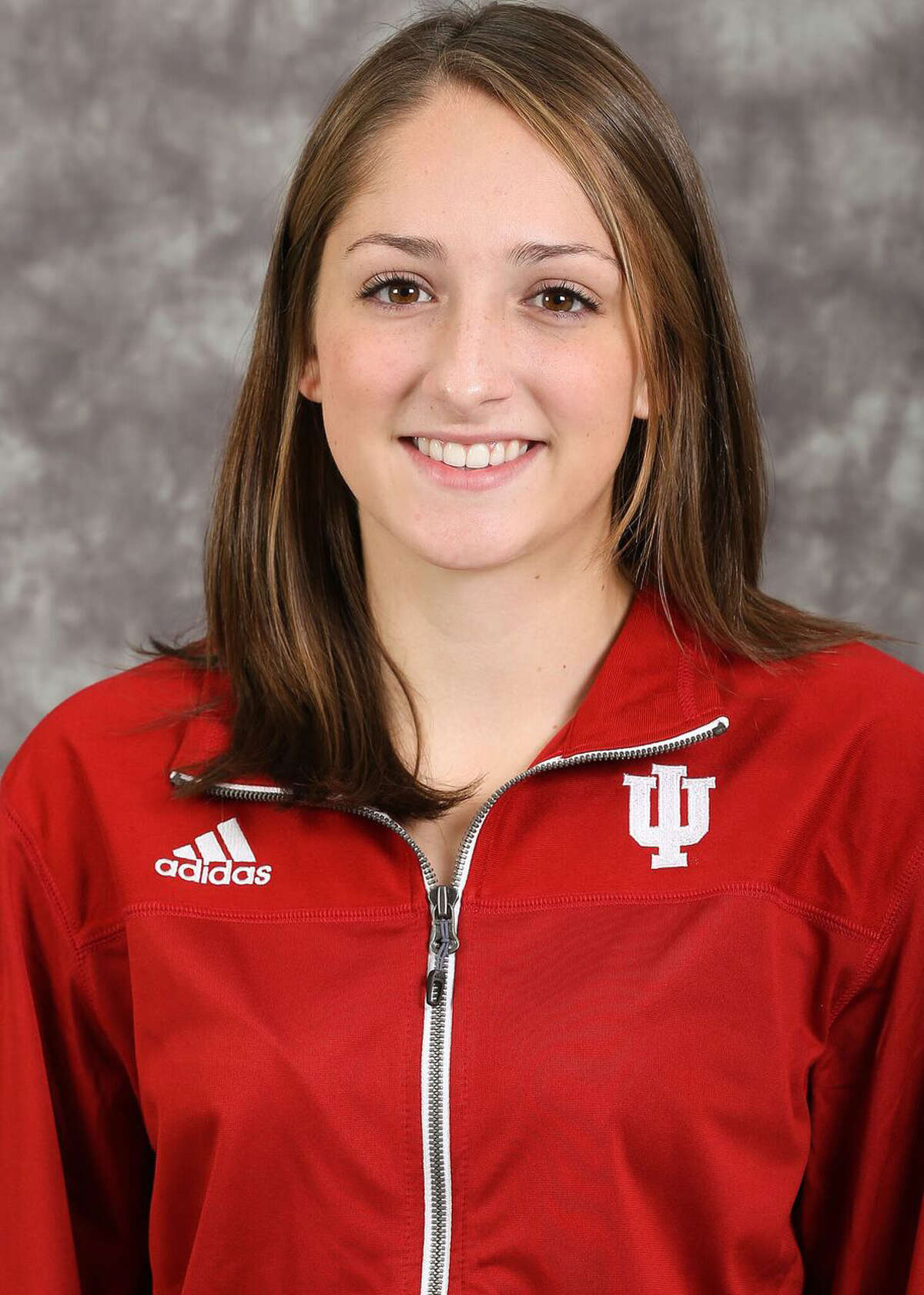 Albany Academy for Girls graduate Leah Moran of the Indiana indoor track team. (Zach Reitzug/Indiana Athletics)