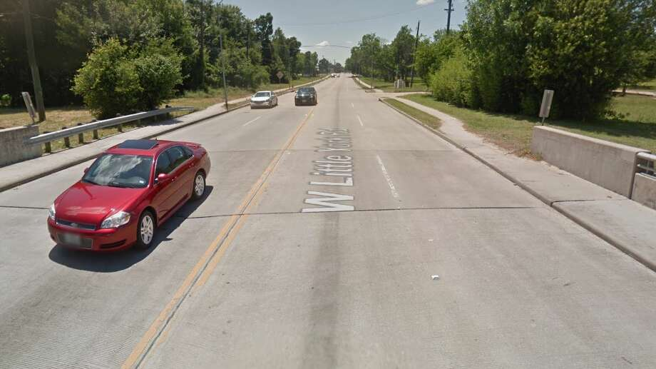A motorcyclist is dead after a crash in north Houston on Wednesday night. Photo: Google Maps