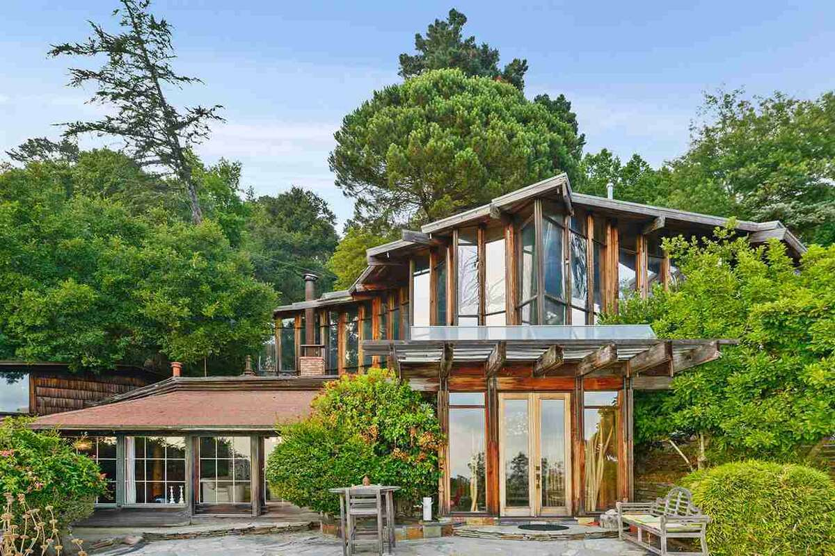 200 Panoramic Way: stunning, and now for much less: $3.388M-- Bitcoin accepted.