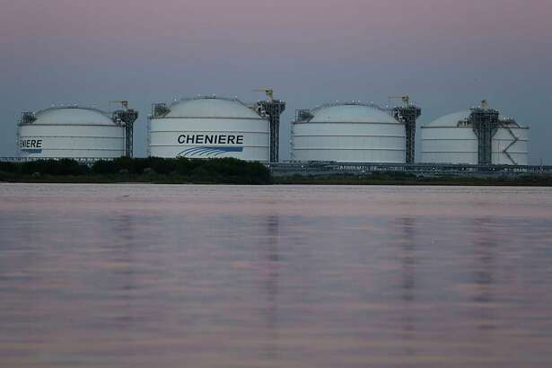 Cheniere's Sabine Pass LNG terminal Nov. 15, 2016, in Sabine Pass. ( James Nielsen / Houston Chronicle )