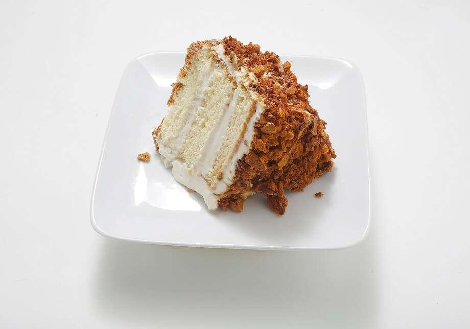 Blum's Coffee Crunch Cake. Photo: Liz Hafalia, The Chronicle