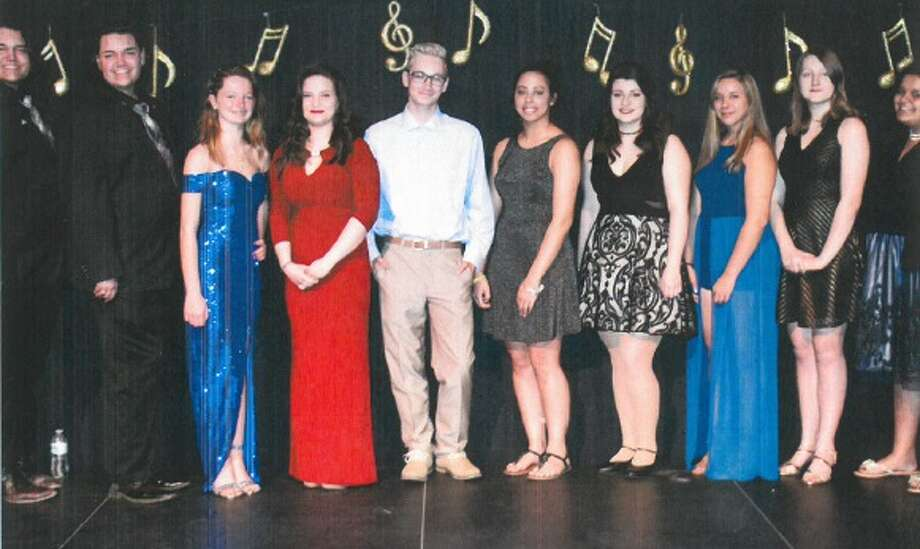 Finalists from last year's Raise Your Voice singing competition pose on stage at Proctors. CASA of the Capital Region will host this year's event on April 26. (Submitted photo)