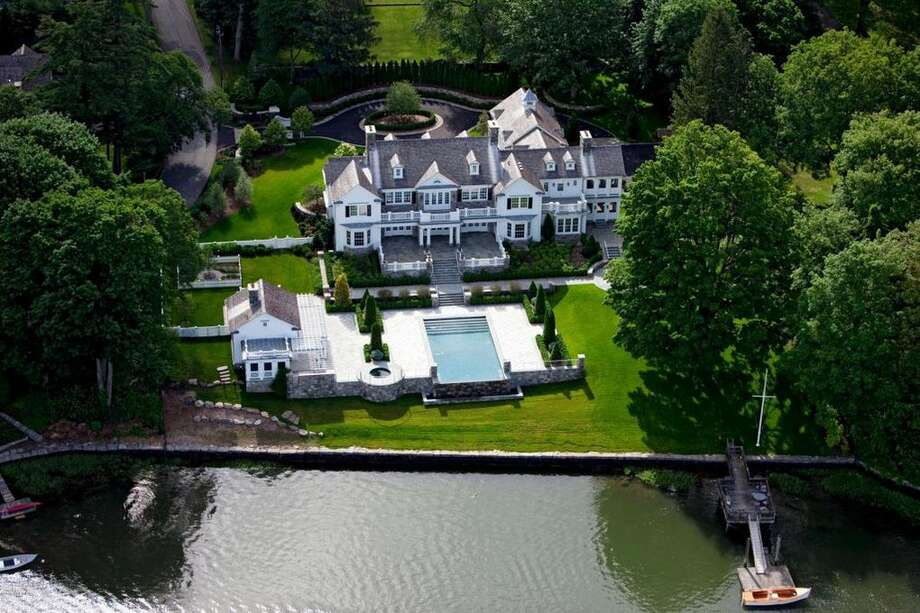 A waterfront home on Glen Avon Drive in Riverside recently sold for $14.5 million. Photo: Realtor.com