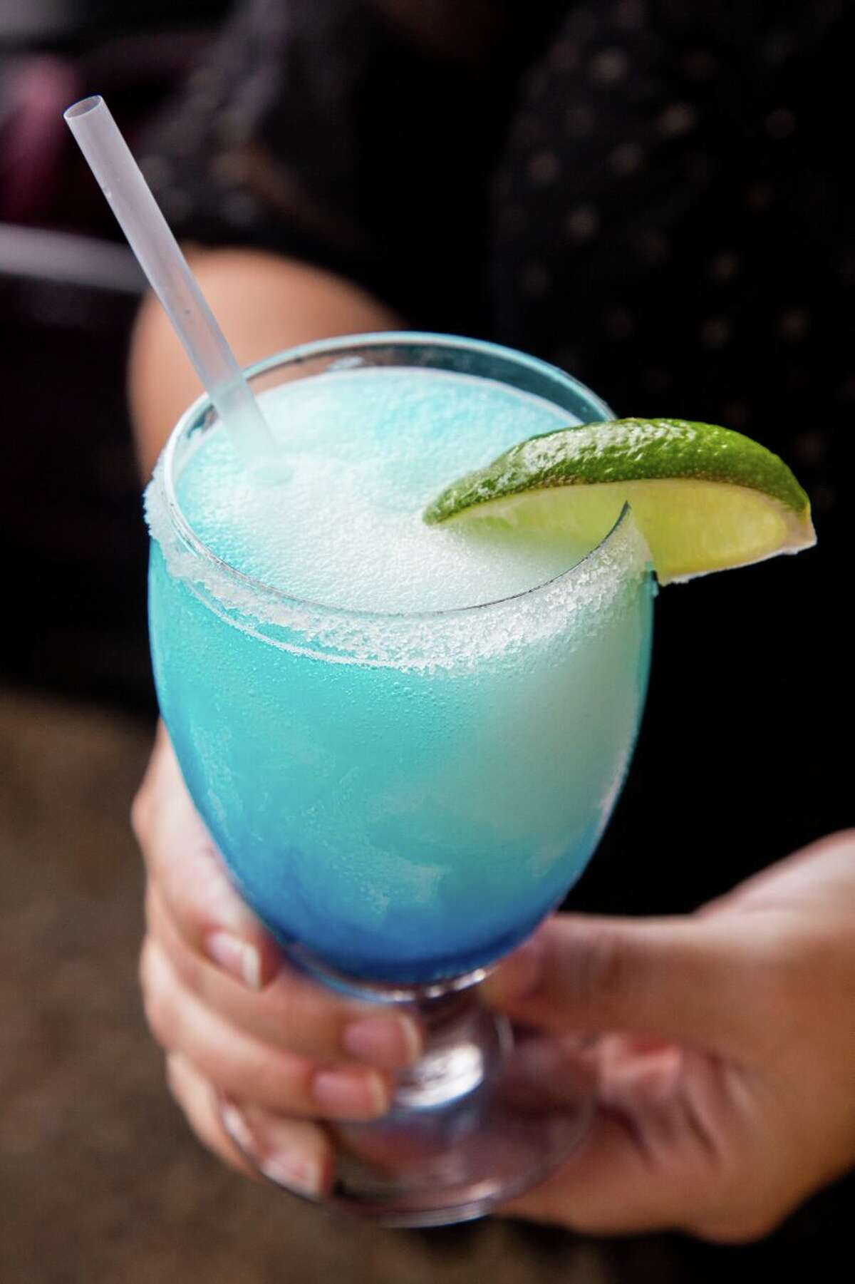 El Patio restaurant will mark National Margarita Day, Feb. 22, with famous frozen blue margaritas for $6 (normally $7) and regular house frozen margaritas for $5 (normally $6.25).