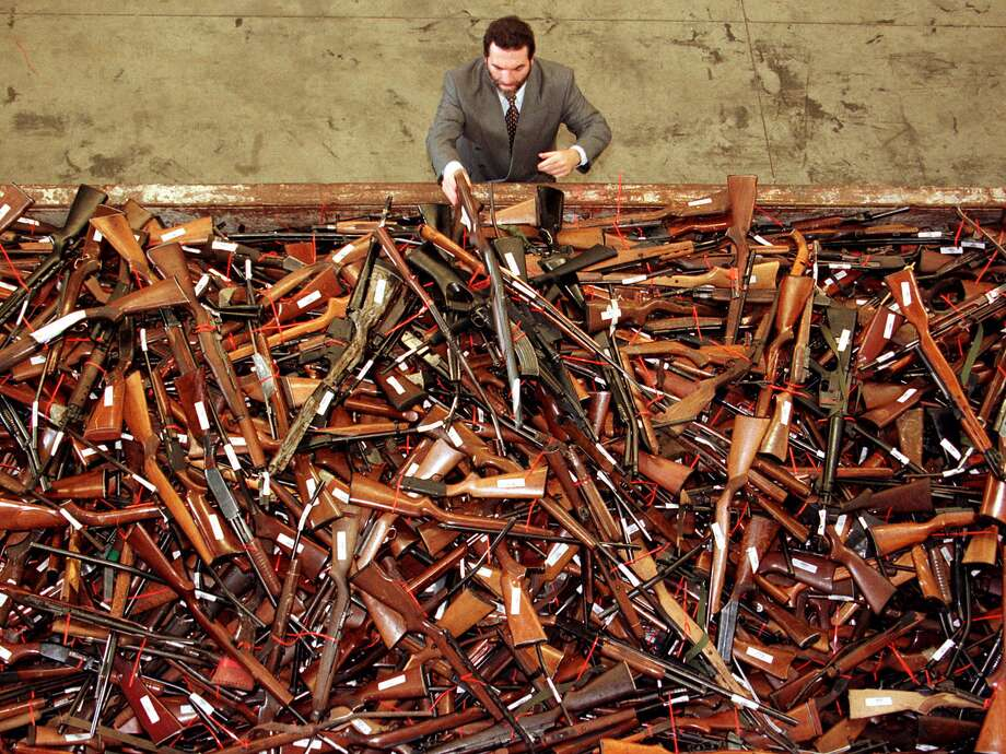 Australia paid citizens to sell their guns to the government. Photo: David Gray/Reuters Via Business Insider