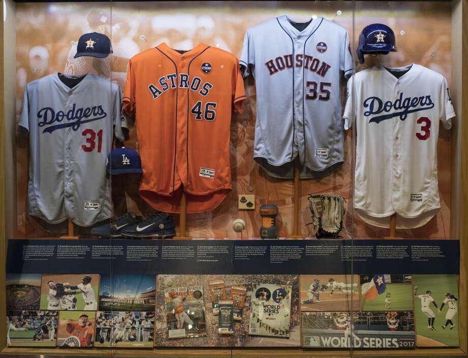 "The ""Autumn Glory"" exhibit celebrating the Astros' World Series championship opens Friday at the National Baseball Hall of Fame in Cooperstown, N.Y. It will be featured through the end of the 2018 World Series.Click through the gallery to see the Houston Chronicle's best photos from the World Series. Photo: Courtesy National Baseball Hall Of Fame"