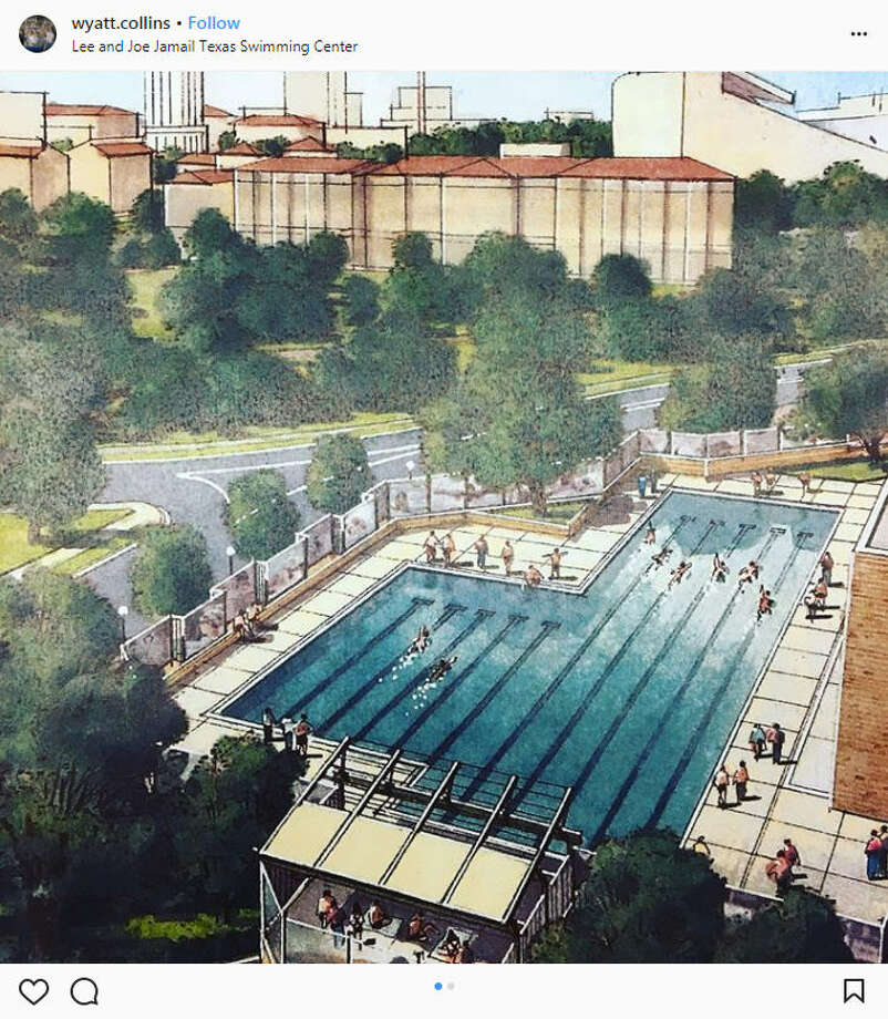 The university of texas to build new outdoor swimming and - Swimming pool regulations in texas ...