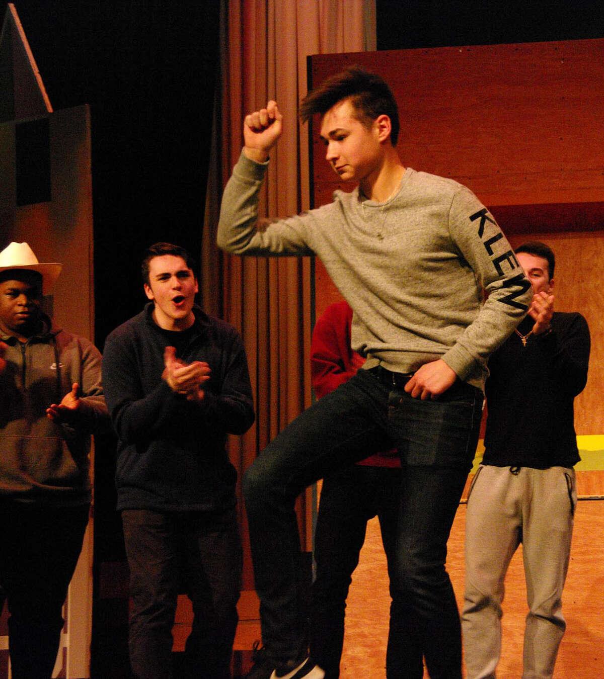 "Schalmont High School's production of ""Footloose"""
