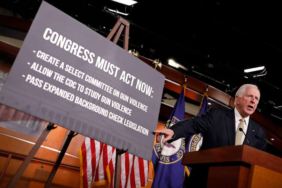 WASHINGTON, DC - FEBRUARY 15: Rep. Mike Thompson (D-CA) speaks at Minority Leader Nancy Pelosi's weekly press conference on Capitol Hill on February 15, 2018 in Washington, DC. Pelsoi called on congress to act in the wake of the recent school shooting in Parkland, FL. (Photo by Aaron P. Bernstein/Getty Images) Photo: Aaron P. Bernstein, Getty Images