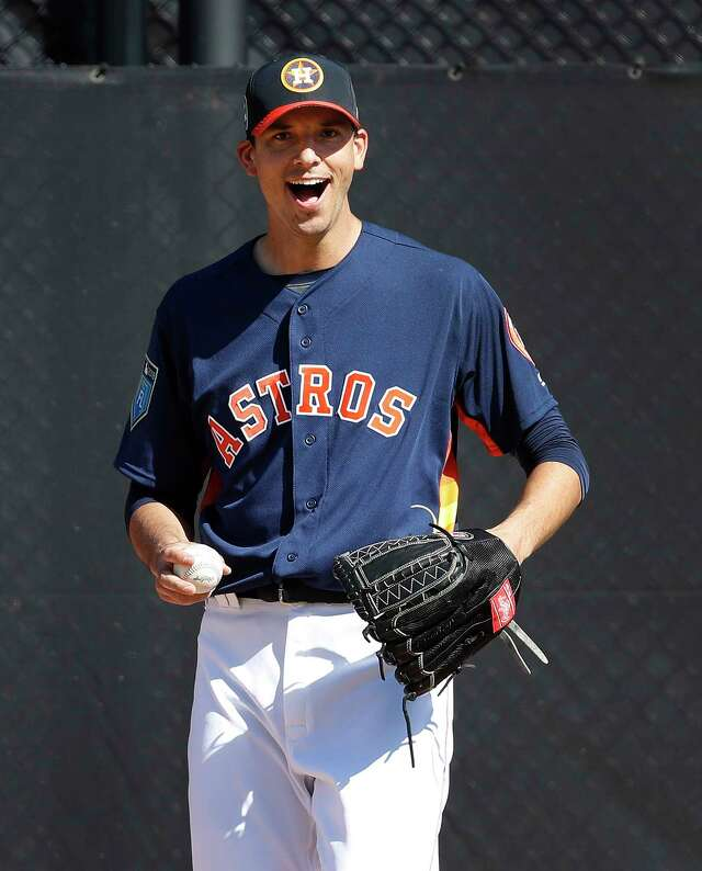 charlie morton experiments with changeup in astros spring game houstonchronicle com houston chronicle