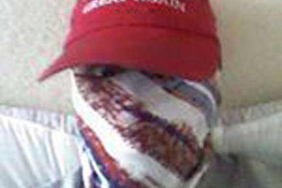 This photo was used as the profile picture on the Instagram account of Nikolas Cruz, who was charged with 17 counts of premeditated murder on Thursday, Feb. 15, 2018, the day after opening fire with a semi-automatic weapon in the Marjory Stoneman Douglas High School in Parkland, Fla. (Instagram via AP)