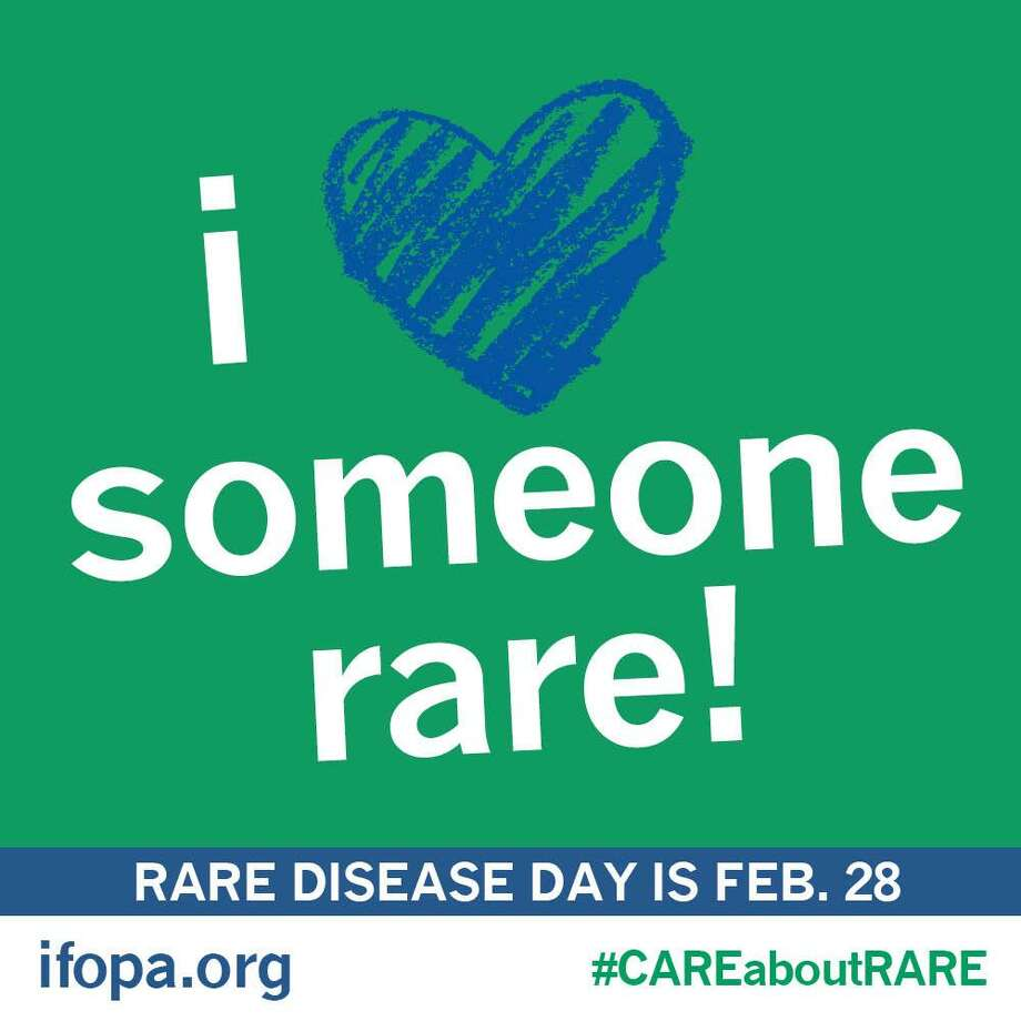 The main objective of Rare Disease Day 2018 is to raise awareness with policy makers and the public of rare diseases and of their impact on the lives of patients, and to reinforce their importance as a public health priority. Rare Disease Day is Feb. 28 in 2018. Photo: Contributed Photo / Hearst Connecticut Media / New Canaan News