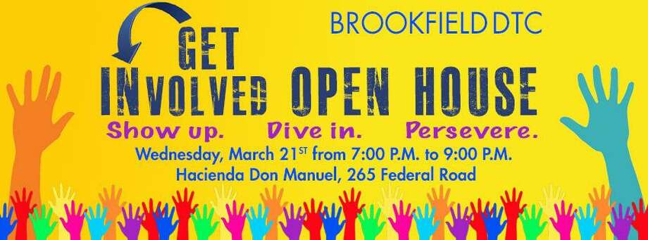 "The Brookfield Democratic Town Committee is hosting a ""Get Involved Open House"" on March 21. Photo: / Contributed Photo"