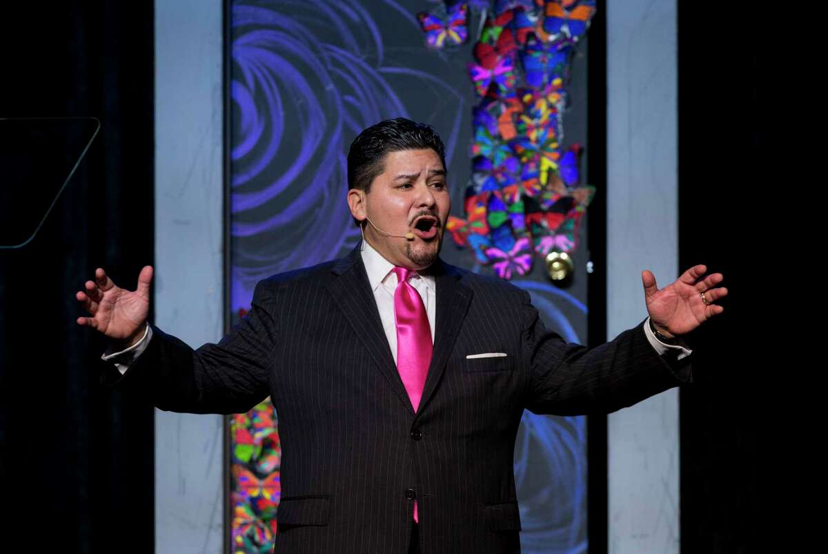 HISD Superintendent Richard Carranza speaks to roughly 1,500 members of Houston's business, non-profit- and faith-based community in attendance for the annual State of the Schools address at Hilton Americas Hotel Thursday, Feb. 15, 2018, in Houston.