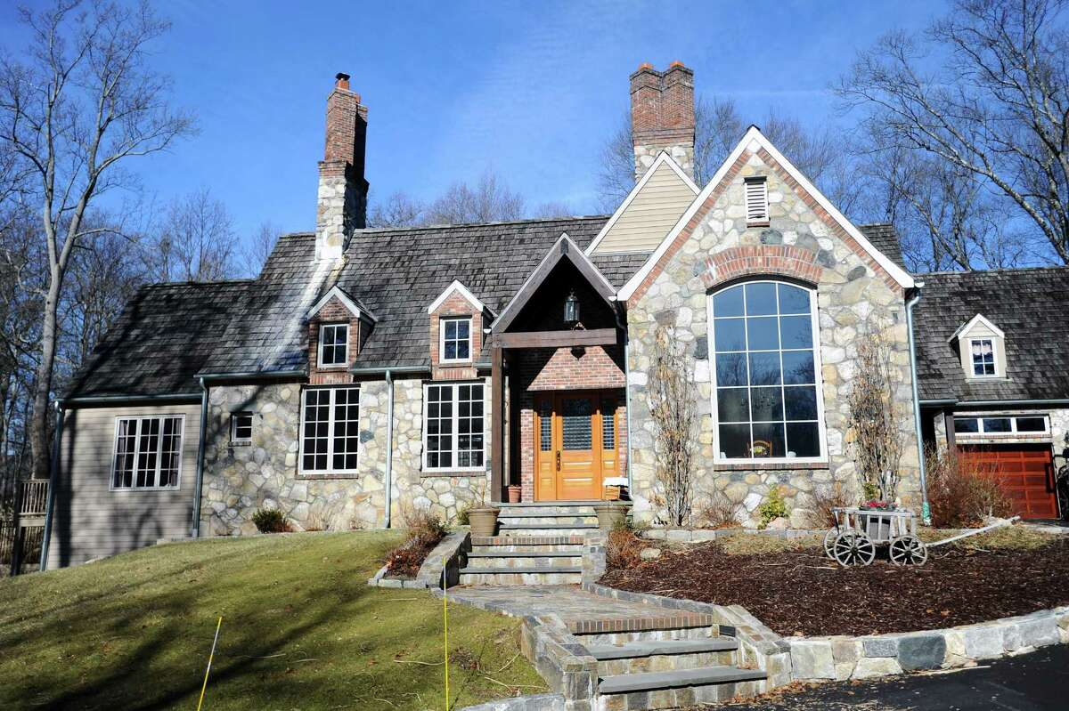 The on-the-market 4,000-square-foot country French home on High Ridge Road in north Stamford, Conn. on Tuesday, Feb. 13, 2018.