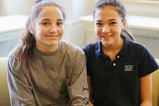 New Canaan's Sophie Broll and India Harris, eighth-graders at Sacred Heart Greenwich, earned gold in a Scholastic writing competition.
