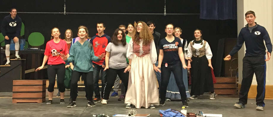 "Schoharie Central High School presents ""Cinderella"" Photo: Cassandra Olin, Provided"