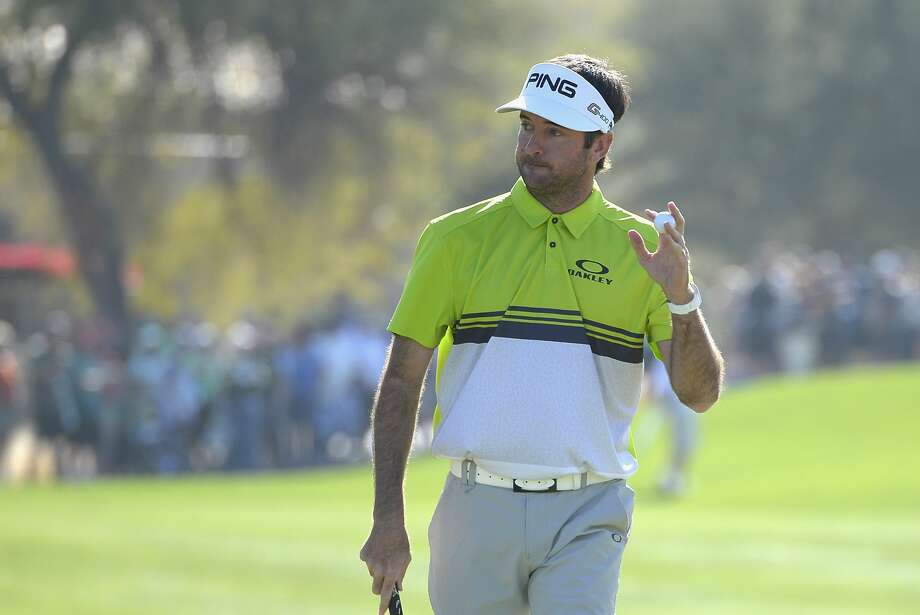SCOTTSDALE, AZ - FEBRUARY 03:  Bubba Watson waves to the gallery after making a putt on the first hole during the third round of the Waste Management Phoenix Open at TPC Scottsdale on February 3, 2018 in Scottsdale, Arizona.  (Photo by Robert Laberge/Getty Images) Photo: Robert Laberge/Getty Images