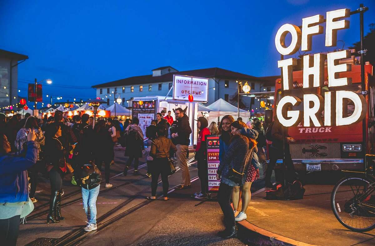 Off the Grid at the Fort Mason Center