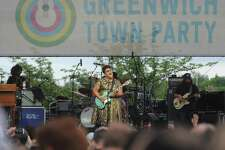 The Alabama Shakes, led by guitarist and vocalist Brittany Howard, performs at the 2017 Greenwich Town Party at Roger Sherman Baldwin Park in Greenwich. The Think Greenwich Campaign hopes to tout positive aspects of Greenwich in promoting the town.