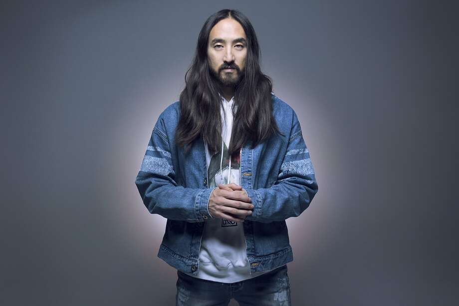 Steve Aoki, known for EDM, features big-name hip-hop acts in his newest album. He'll be in S.F. March 10. Photo: Brian Ziff