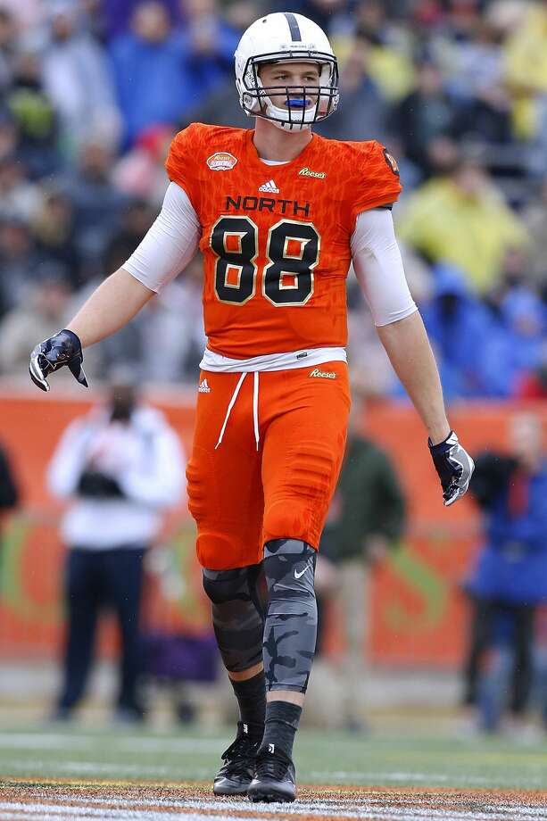 TE MIKE GESICKI, PENN STATEProjection: early-round pick Photo: Jonathan Bachman/Getty Images