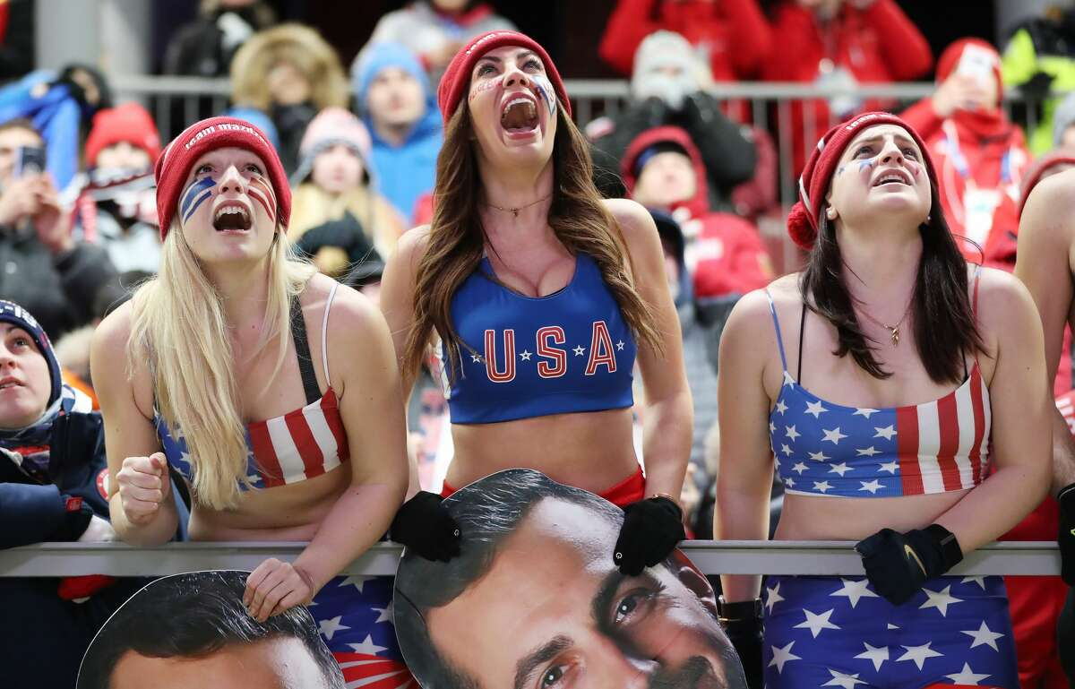 See some of the most spirited fans dedicated to hyping up the Olympic Games.