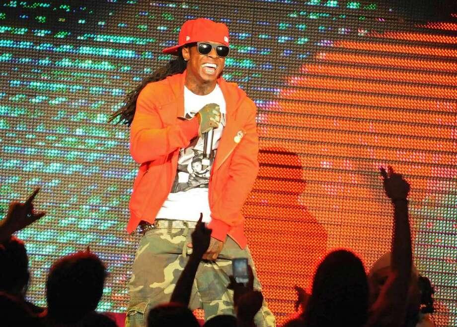 Lil Wayne performs at Saratoga Performing Arts Center in Saratoga Springs, NY on July 29, 2009.  (Lori Van Buren / Times Union) Photo: LORI VAN BUREN