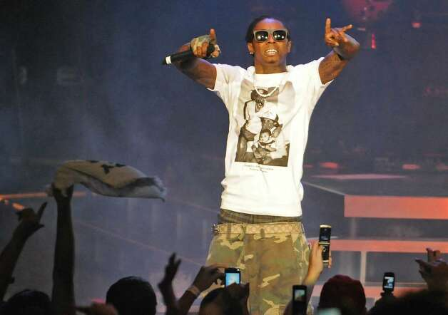 Lil Wayne performs at Saratoga Performing Arts Center in Saratoga Springs, NY on July 29, 2009.  (Lori Van Buren / Times Union) Photo: LORI VAN BUREN