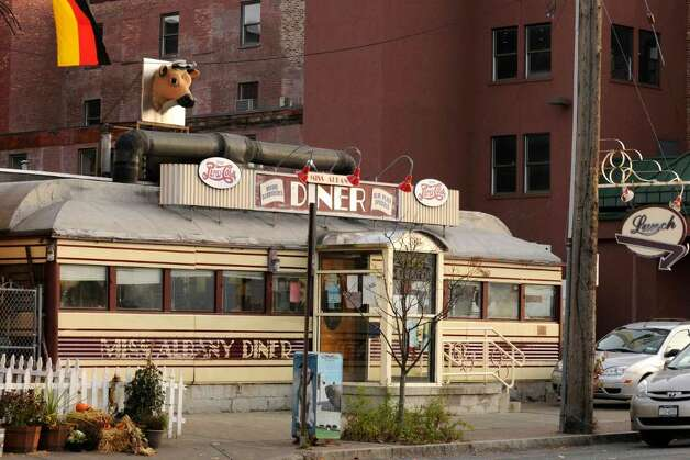 The Miss Albany Diner on Broadway in Albany,New York 11/11/2009. (Michael P. Farrell/Albany Times Union) Photo: MICHAEL P. FARRELL