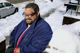 Ken Screven outside his home Thursday Feb. 8, 2018, 2018 in Albany, NY.  (John Carl D'Annibale/Times Union)